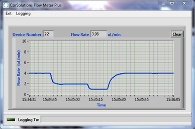 CorSolutions Flow Meter Plus Software