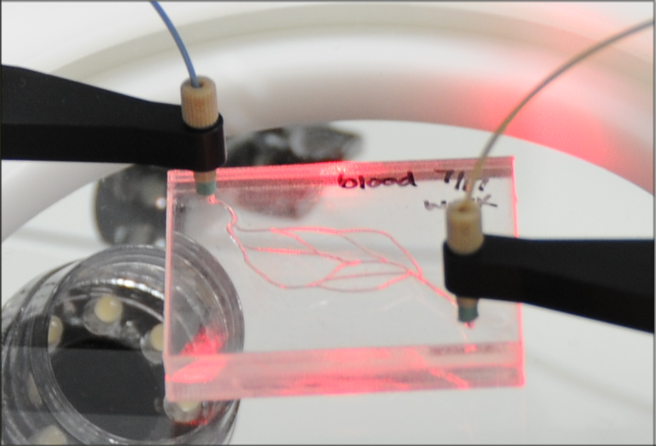 Nonpermanent, Leak-tight Microfluidic Connectors